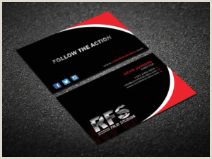 Best Business Cards Video Production Production Business Cards