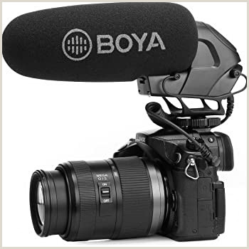 Best Business Cards Video Production Super Cardioid Camera Video Shotgun Microphone Boya By Bm3032 Broadcast Condenser Interview Capacitive Microphone Camera Video Mic For Canon Nikon