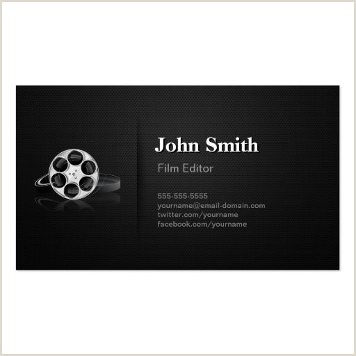 Best Business Cards Video Production Video Editor Business Cards