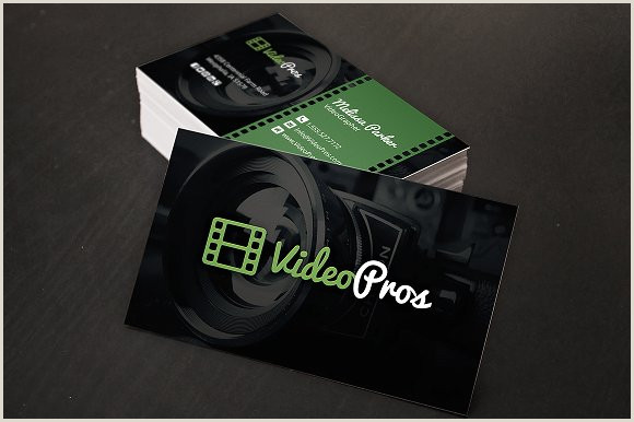 Best Business Cards Video Production Videography Business Card
