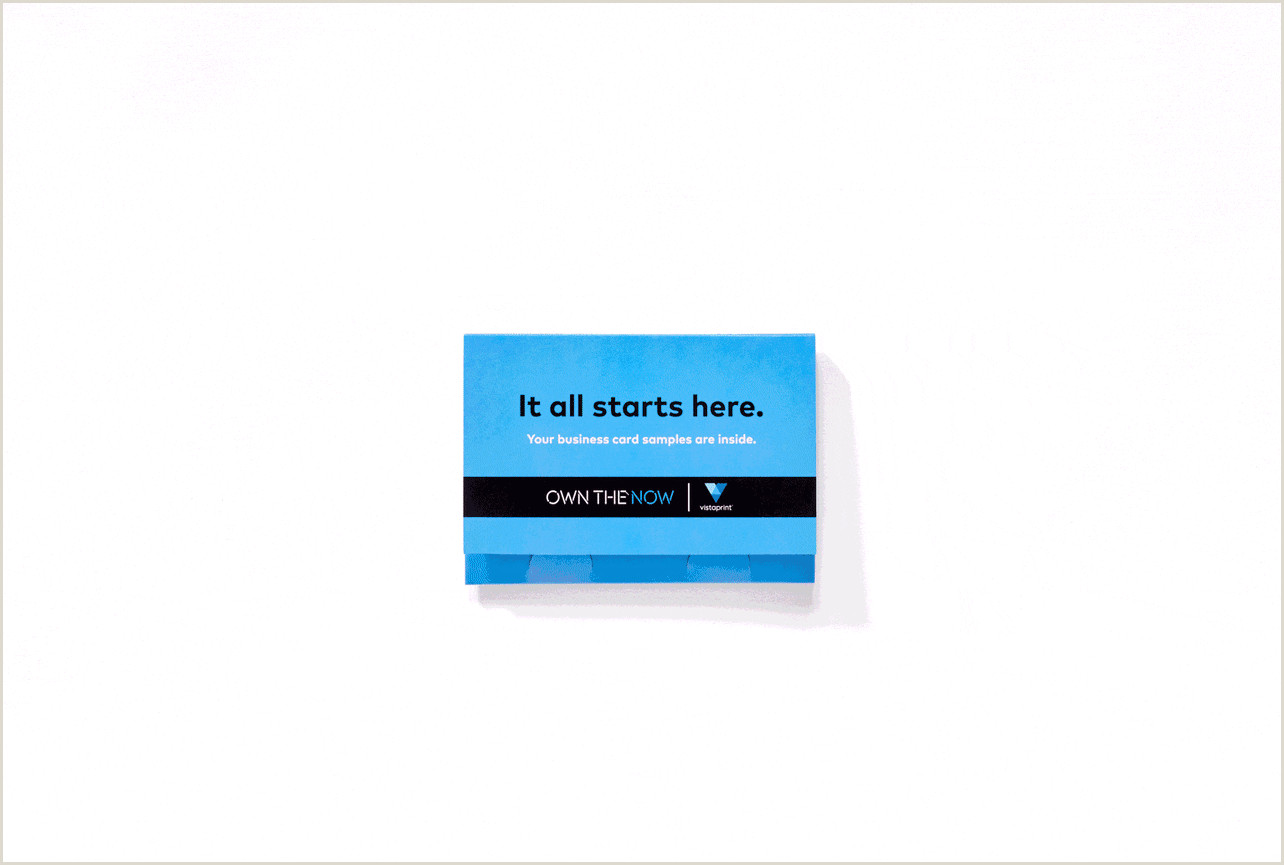 Best Business Cards Vistaprint Editors Choice Free Business Cards Sample Kit