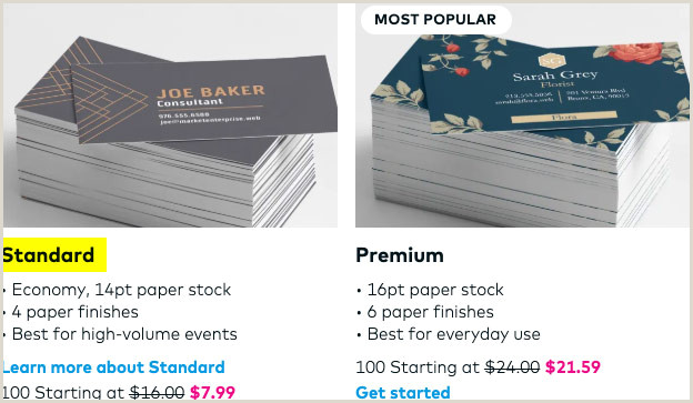 Best Business Cards Vistaprint Editors Choice Vistaprint Standard Business Card Reviews Check Out My Cards