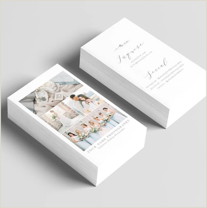 Best Business Cards Website For Photographers 45 Best Free Graphy Business Cards To Make An Impression