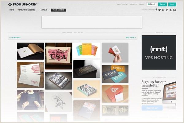 Best Business Cards Websites 22 Best Places To Find Business Card Design Inspiration