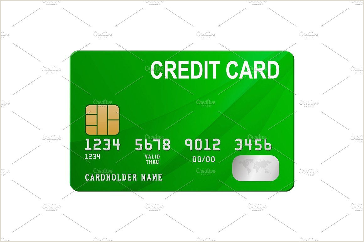 Best Business Cards With Balance Transfer Credit Cards Vector Set