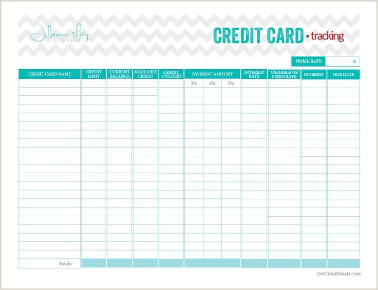 Best Business Cards With Balance Transfer Free Credit Card Debt Tracker Printable