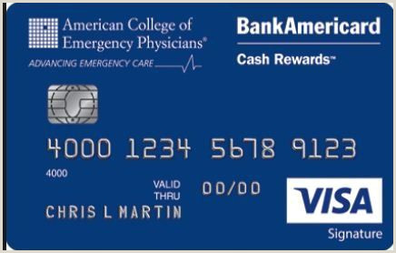 Best Business Cards With Cash Back Acep Bankamericard Cash Rewards Visa Credit Card Is A Card