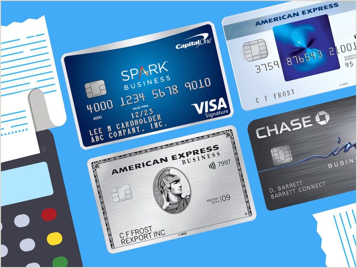 Best Business Cards With Maxed Out Personal Credit The Best Small Business Credit Cards — Updated For October