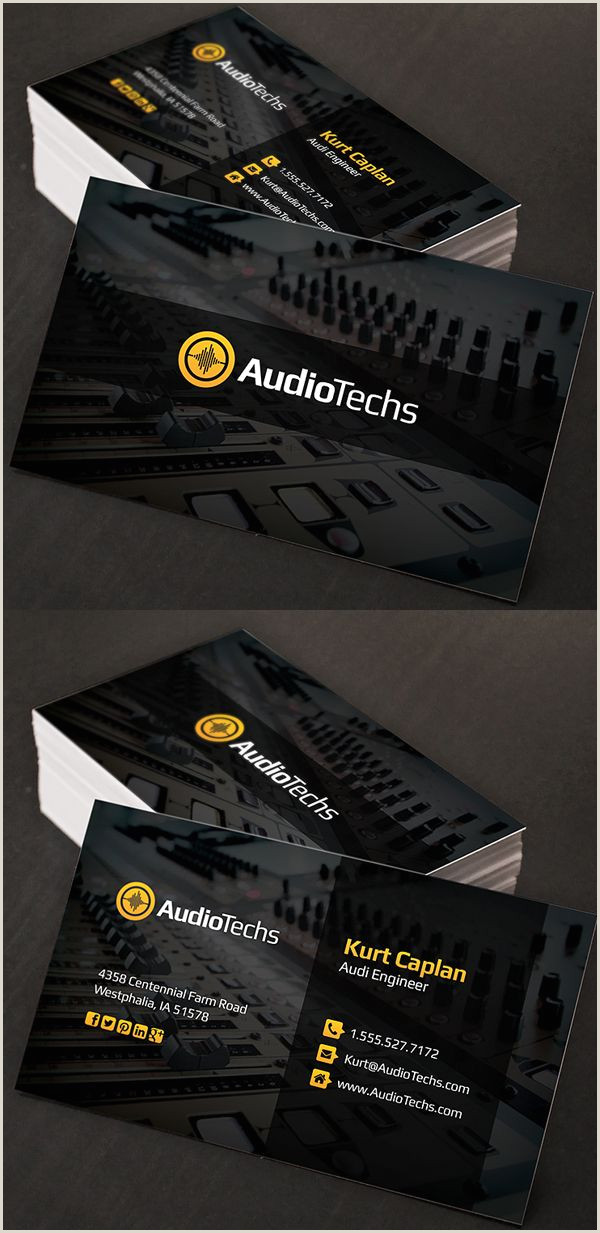 Best Business Cards With Photo 23 Corporate Creative Business Card Psd Templates