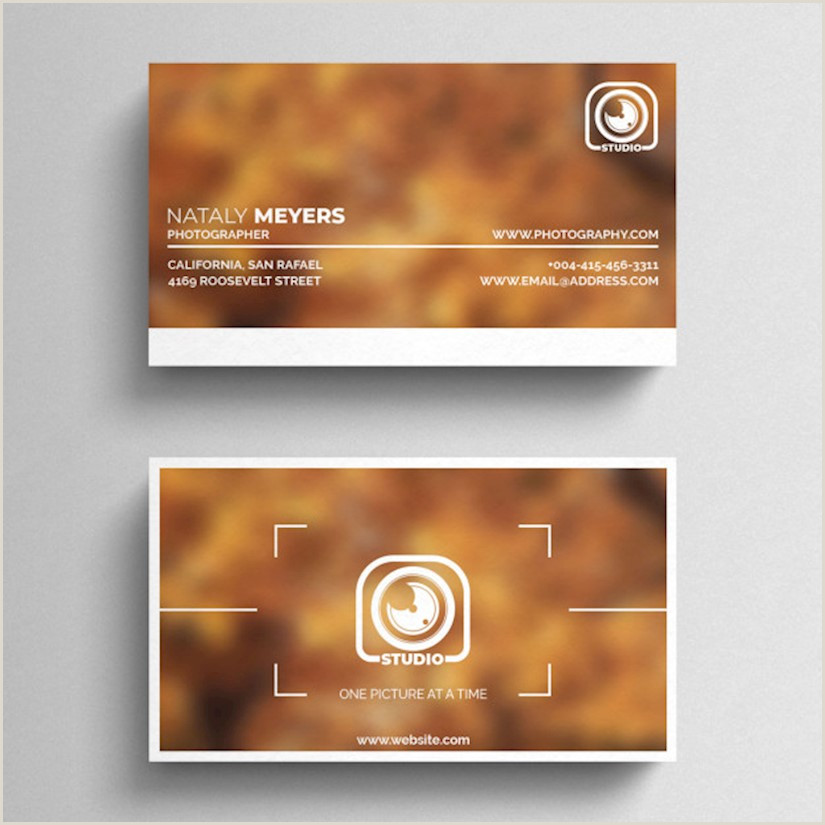 Best Business Cards With Photo 50 Best Graphy Business Cards For Inspiration