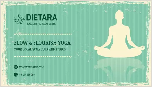 Best Business Cards Yoga 110 Free Yoga Business Card Templates Adking