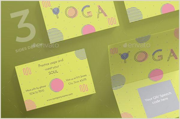 Best Business Cards Yoga 18 Yoga Business Cards Free & Premium Shop Vector