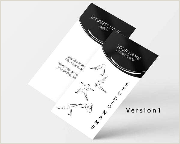 Best Business Cards Yoga 19 Yoga Instructor Business Card Templates Ai Psd Pages