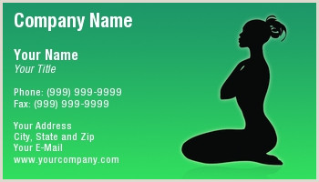 Best Business Cards Yoga Yoga Business Cards