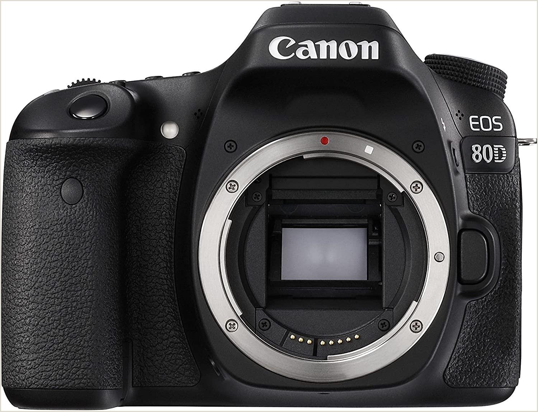 Best Cheap Business Cards Canon Digital Slr Camera Body [eos 80d] With 24 2 Megapixel Aps C Cmos Sensor And Dual Pixel Cmos Af Black