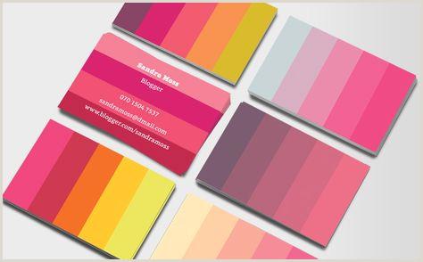 Best Color For Business Cards 10 Best Colour Palette Business Cards Images