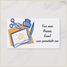 Best Color For Business Cards 200 Best Craft Artist Business Cards Images In 2020