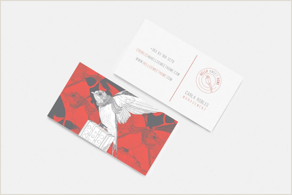 Best Color For Business Cards How To Choose The Perfect Colors For Your Business Card