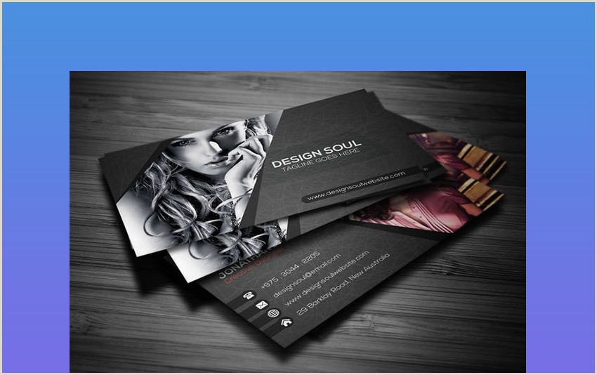 Best Company For Unique Business Cards 25 Best Beautiful Business Cards With Unique Stand Out