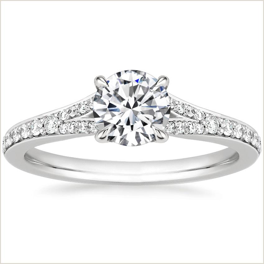 Best Gold Business On Earth 18k White Gold Duet Diamond Ring