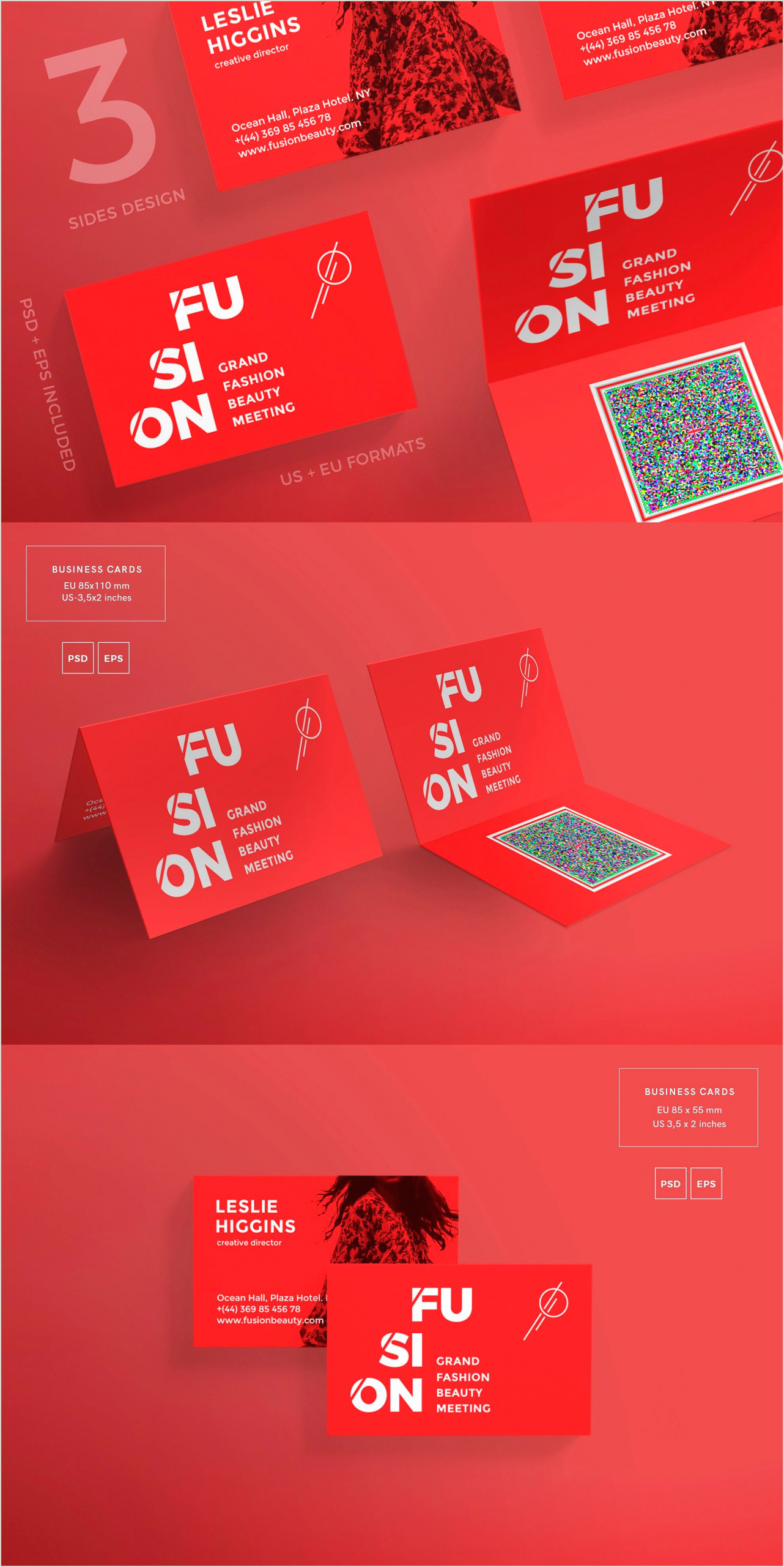 Best Image Size For Business Cards Business Cards Fusion