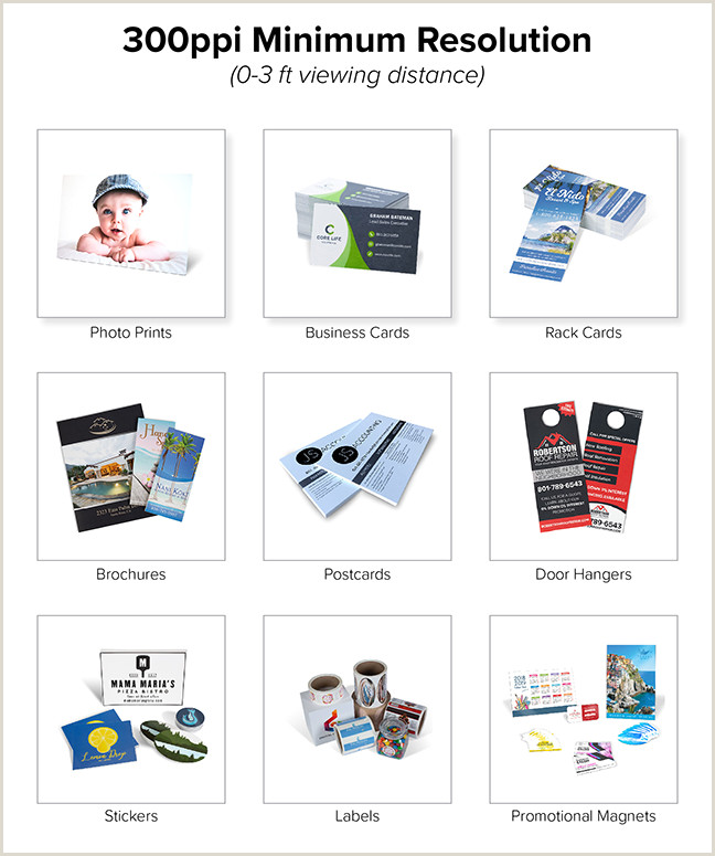 Best Image Size For Business Cards The Best Resolution For Printing S Banners Signs And