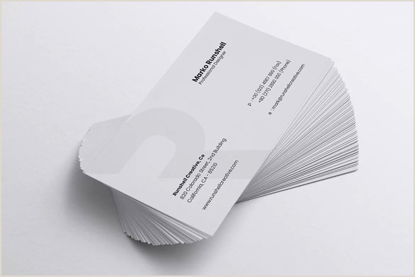 Best Looking Business Card 25 Best Personal Business Cards Designed For Better