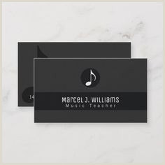 Best Musician Business Cards 300 Best Musician Business Cards Images In 2020