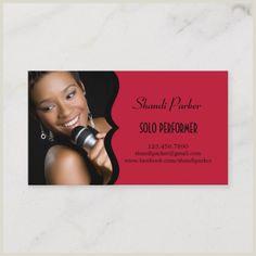Best Musician Business Cards Singer Business Cards 300 Ideas