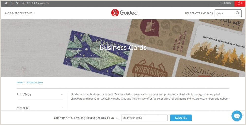 Best Place To Have Business Cards Made 11 Best Places To Order Business Cards Line In 2020