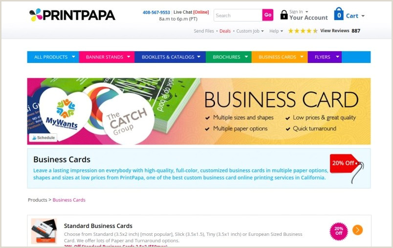 Best Place To Put Business Cards 11 Best Places To Order Business Cards Line In 2020