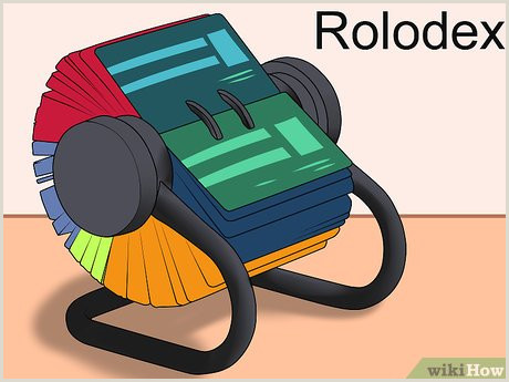 Best Place To Put Business Cards 3 Ways To Organize Business Cards Wikihow