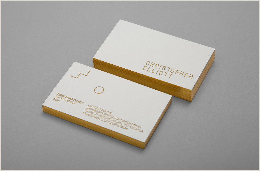 Best Professional Business Cards The Best Business Card Designs No 9 — Bp&o