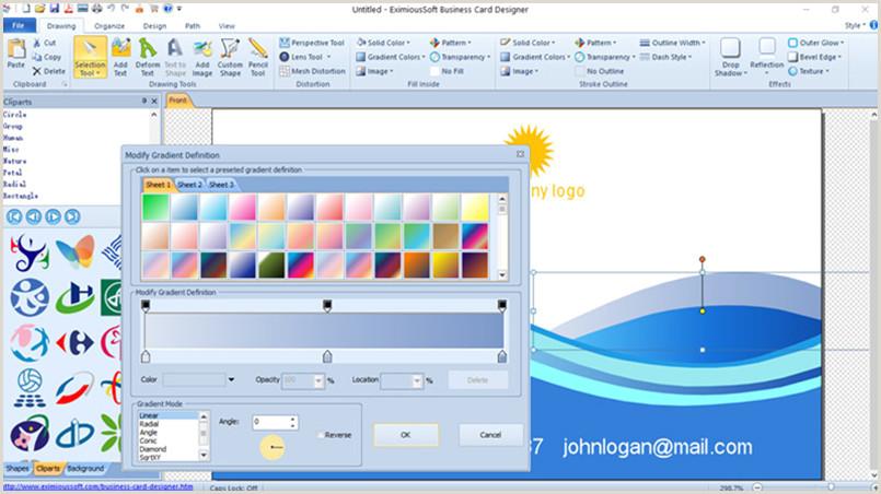 Best Program To Design Business Cards Business Card Software Business Card Maker Make Free