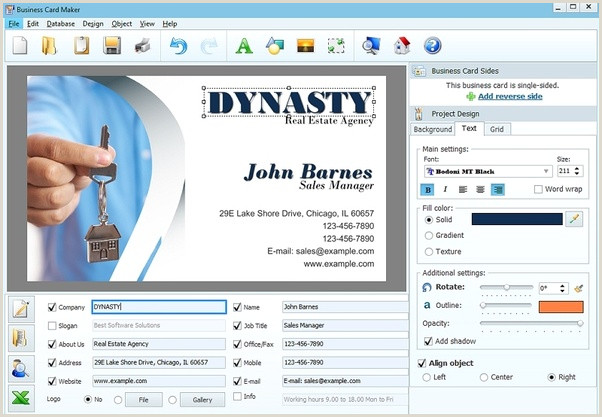 Best Program To Design Business Cards What Is The Best Business Card Design Software Quora