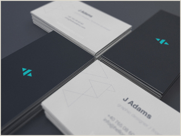 Best Simple Business Cards 20 Minimalistic Business Card Designs For Your Inspiration