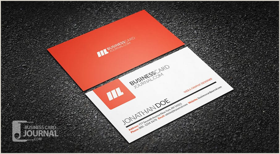 Best Simple Business Cards 75 Free Business Card Templates That Are Stunning Beautiful
