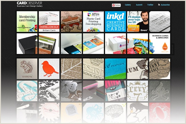 Best Site For Business Cards 22 Best Places To Find Business Card Design Inspiration