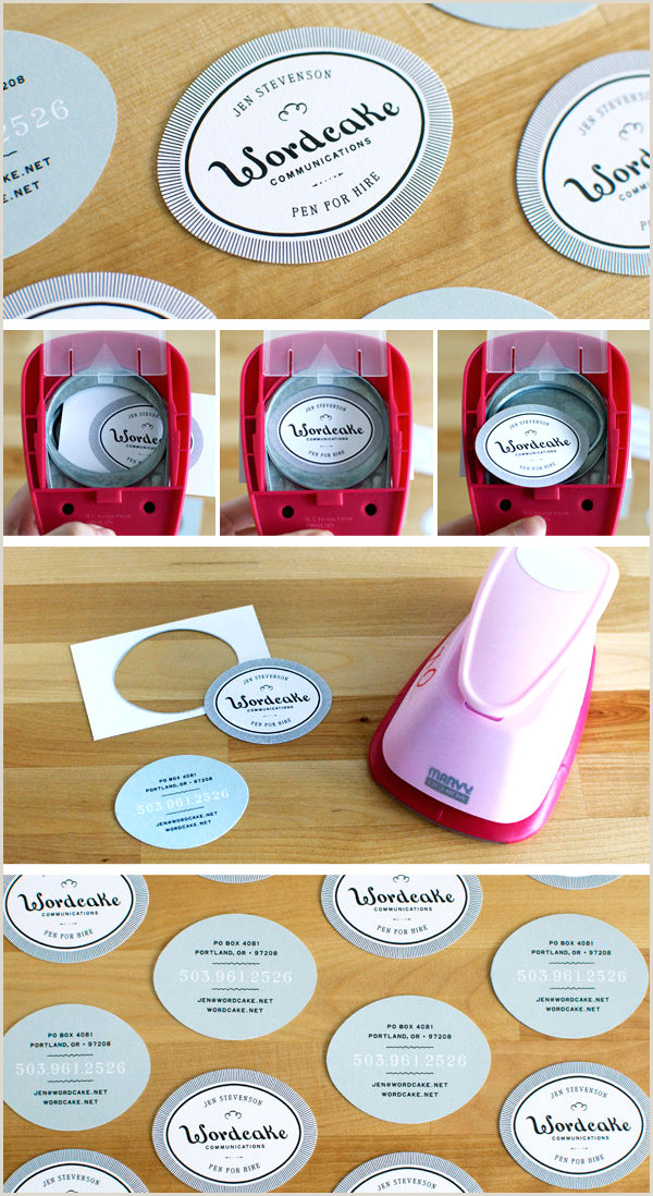 Best Way To Make Business Cards 6 Super Easy Ways To Create Handmade Diy Business Cards