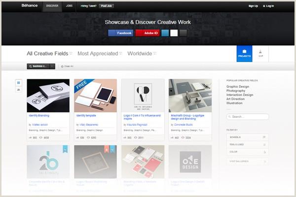 Best Websites For Business Cards 22 Best Places To Find Business Card Design Inspiration