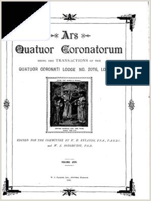 Bisness Cards Ars Quatuor Coronatorum Vol 29 Pdf