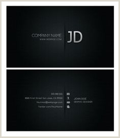 Black And White Business Cards Templates Free 90 Best 3d Business Cards Images