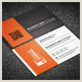 Black And White Business Cards Templates Free Free Black And White Corporate Business Card Template