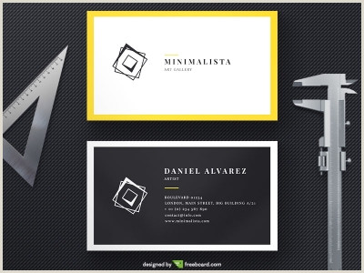Black And Yellow Business Cards Black And Yellow Business Card