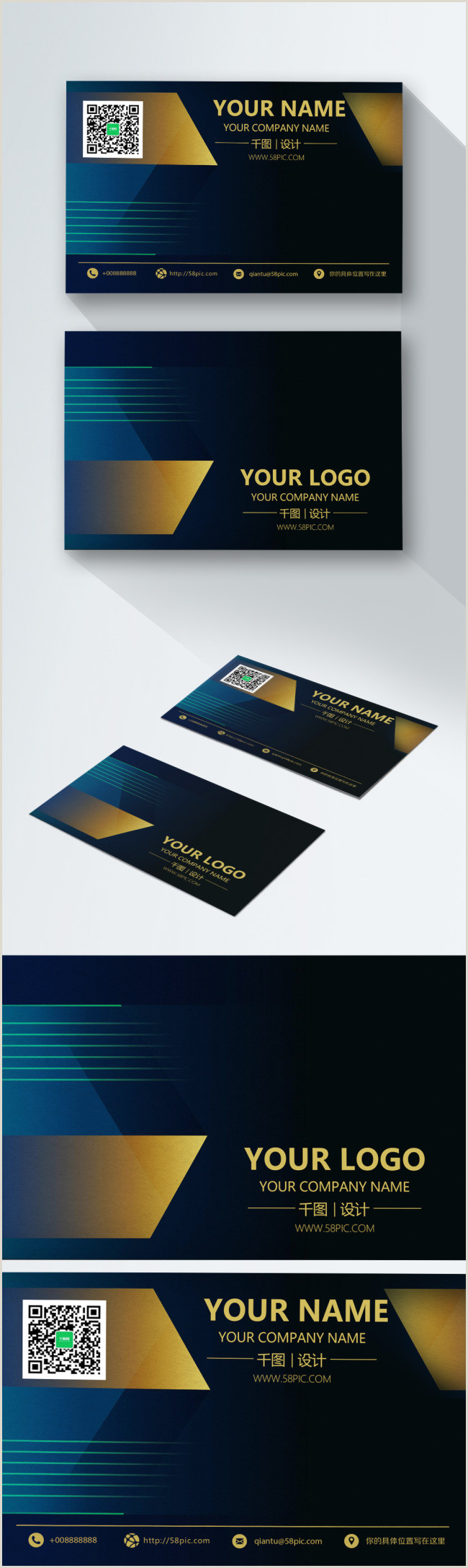 Black Business Card Background Black Business Card Design Template Image Picture Free