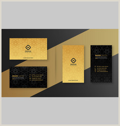 Black Business Card Design Black Business Card Vector Over 210 000