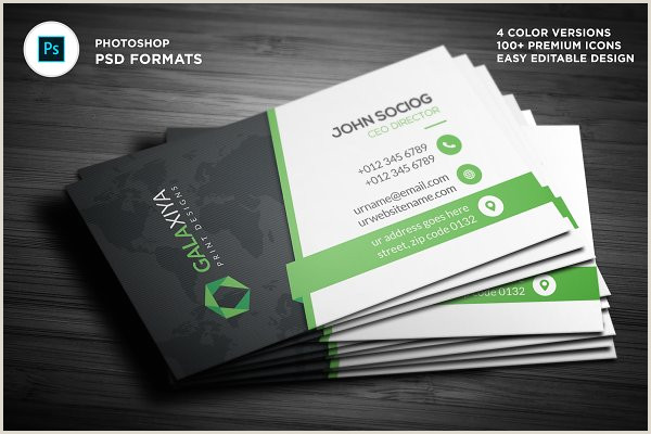 Black Business Card Design Modern Dark Black Business Cards