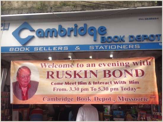 Book Signing Banner Banner Intimating The Arrival Of Mr Bond Picture Of