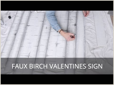 Book Signing Banner Birch Wood Sign For Valentine S Day