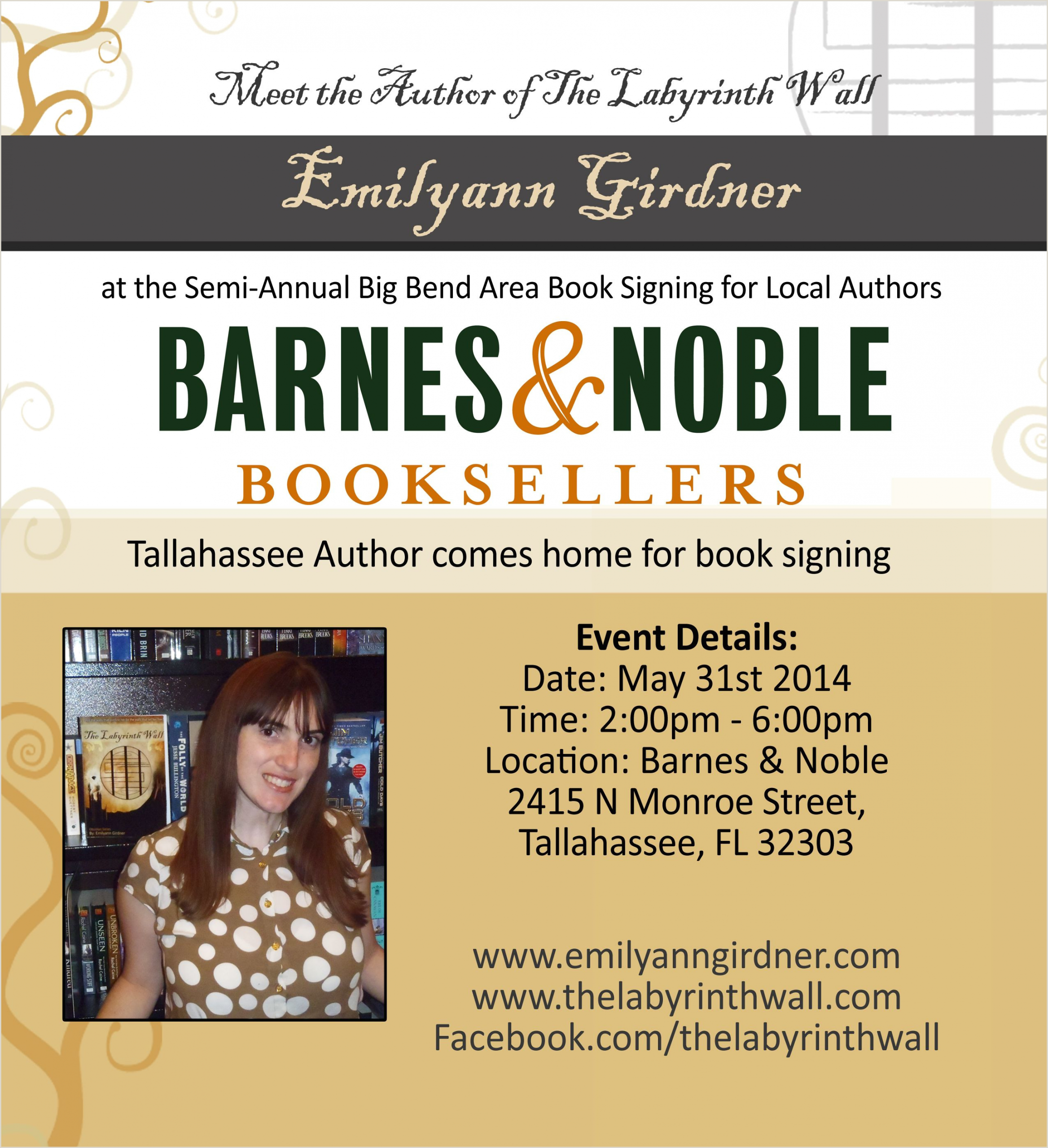 Book Signing Poster Examples Author Book Signing Posters